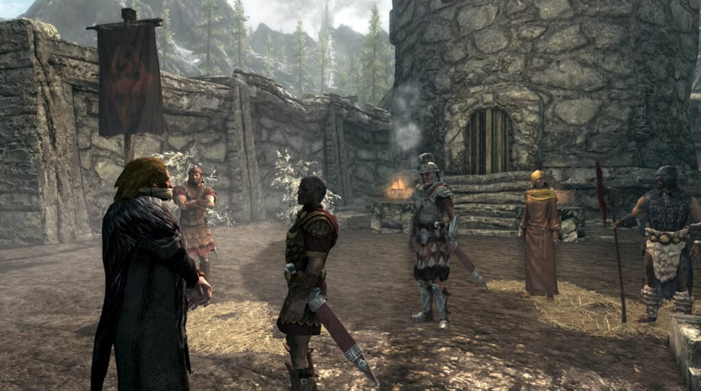 Skyrim isn't too complex but has enough depth to keep you engaged. Photo: Bethesda.